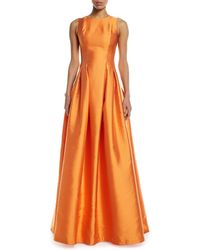 Sachin & Babi - Marmara Taffeta Sleeveless Ball Gown - Lyst