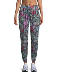 Terez - Camo Printed French Terry Jogger Pants - Lyst