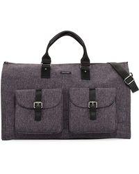 Hook + Albert - Melange Carry-on Garment Weekender Bag - Lyst