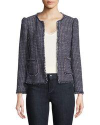Rebecca Taylor - Multi-tweed Jacket - Lyst