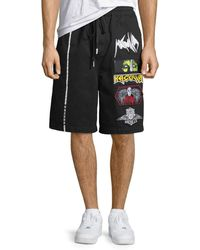 Haculla - Men's Patched Cotton Shorts - Lyst
