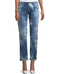 Ralph Lauren Collection   Mid-rise Straight-leg Coastal Denim Jeans   Lyst