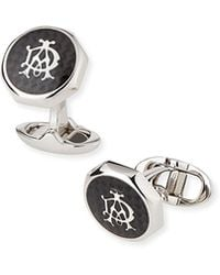 Dunhill - Octagonal Ad Cuff Links - Lyst