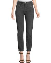 Levi's - 501 High-rise Skinny Ankle Jeans - Lyst