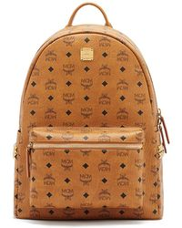 MCM - Stark Side Stud Medium Backpack - Lyst