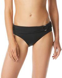 031de573e06e1 MICHAEL Michael Kors - Logo Ring Fold-over Hipster Bikini Bottoms - Lyst