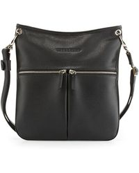 5beefa271b07 Longchamp - Le Foulonné Flat Crossbody Bag - Lyst