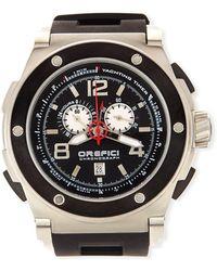 Orefici Watches | Regata Yachting Chronograph Watch | Lyst