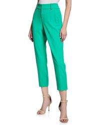 Alice + Olivia - Stacey Slim Straight-leg Trousers - Lyst