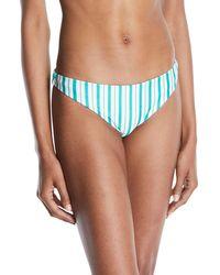 Lovers + Friends - Good Vibes Striped Bikini Bottoms - Lyst