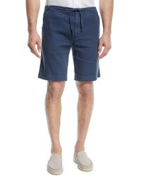 Loro Piana - Linen-blend Bermuda Shorts - Lyst