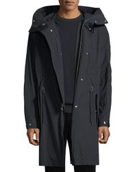 Vince - Men's Hooded Parka Coat With Detachable Lining - Lyst