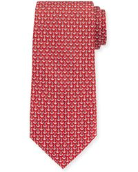 Ferragamo   Anchors Silk Tie   Lyst