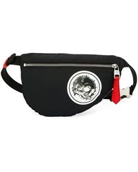 Alexander McQueen - Men s Mini Skull-print Belt Bag fanny Pack - Lyst 23a3b691bc5f3