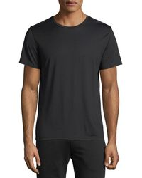 Theory - Claey Silk-blend T-shirt - Lyst