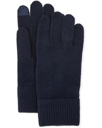 Portolano - Cashmere Tech Gloves - Lyst