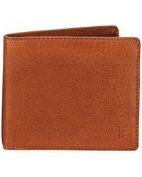 Frye - Oliver Leather Billfold Wallet - Lyst
