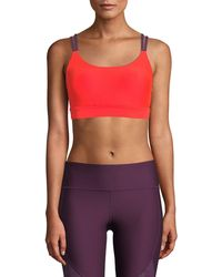Under Armour - Vanish Eclipse Strappy Low-impact Sports Bra - Lyst