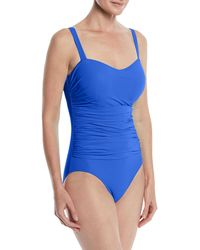 Gottex - Tutti Frutti Ruched One-piece Swimsuit (d Cup) - Lyst
