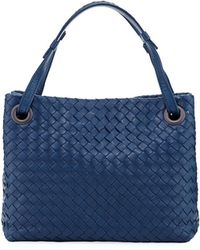 Bottega Veneta - Intrecciato Small Square Bucket Bag - Lyst