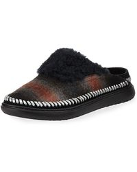 Cole Haan - 2.zerogrand Convertible Plaid Slipper Mules - Lyst