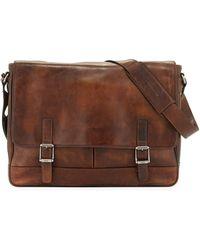 Frye - Oliver Men's Leather Messenger Bag - Lyst