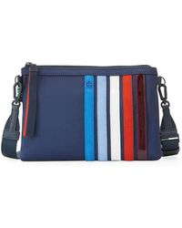 Tory Sport - Patchwork Zip Crossbody Bag - Lyst