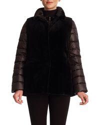 Gorski - Reversible Mink Fur Vest & Puffer Jacket - Lyst