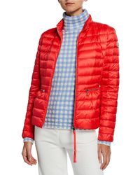 Moncler - Agate Short Quilted Puffer Jacket - Lyst