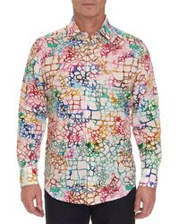 Robert Graham - Men's Zimbali Linen Sport Shirt - Lyst