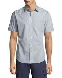 Vince - Men's Micro Stars Short-sleeve Sport Shirt - Lyst