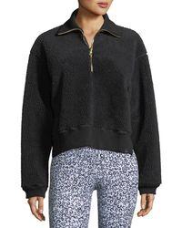 Varley - Daphne Partial-zip Pullover Sweatshirt - Lyst