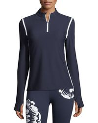 Tory Sport - High-visibility Quarter-zip Pullover - Lyst