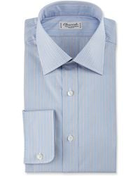 Charvet - Striped Cotton Dress Shirt - Lyst
