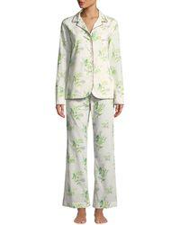 La Costa Del Algodón - Felicia Two-piece Classic Pajama Set - Lyst
