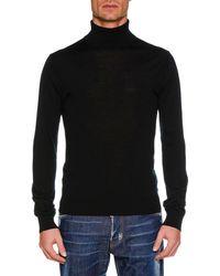 DSquared² - Men's Wool Turtleneck Sweater - Lyst