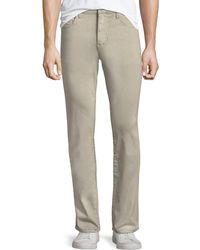 Joe's Jeans - Brixton Straight-leg Sateen Twill Pants - Lyst