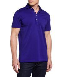 Ralph Lauren - Men's Pique Pocket Polo Shirt - Lyst