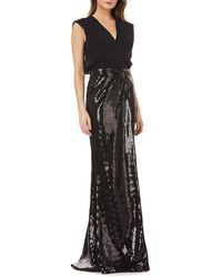 Kay Unger - Sequin Gown - Lyst
