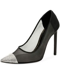 Tom Ford - Strass-cap Illusion 105mm Pumps - Lyst