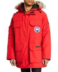Canada Goose - Men's Expedition Hooded Parka Coat - Lyst