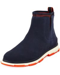 Swims - Storm Chelsea Nubuck High-top Sneaker - Lyst