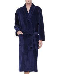 Derek Rose | Terry Cloth Robe | Lyst