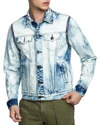 True Religion - Men's Danny Distressed Denim Jacket - Lyst