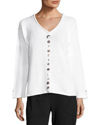 Neon Buddha - Iris Pullover Top With Buttons - Lyst