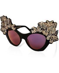 Anna Karin Karlsson - The Butterfly Mirrored Sunglasses - Lyst