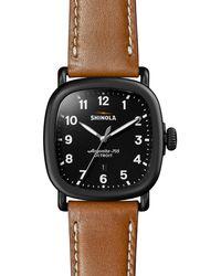 Shinola - Men's 43mm Guardian Chronograph Watch - Lyst