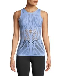 Alo Yoga - Vixen Fitted Muscle Tank Top - Lyst