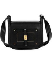 Tom Ford - Natalia Small Leather Day Crossbody Bag - Lyst 4abc281ebdf83