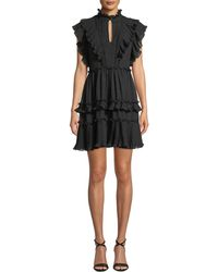 Kate Spade - Bakery Dot Devore Dress - Lyst